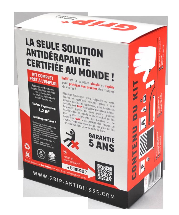 solution antiglisse pour sécuriser douche et baignoire | grip - Antiderapant Salle De Bain