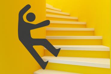 Les chutes : première cause d'accidents domestiques chez les personnes âgées